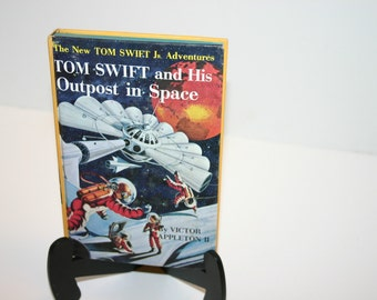 Vintage 1955 Tom Swift Jr. and His Outpost in Space HB book #6