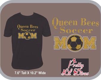 Queen bees soccer mom shirt