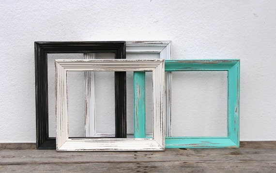 8x10 rustic random wooden frame you choose the color vintage shabby chic 8 x