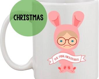 A Christmas Story- The Pink Nightmare coffee mug