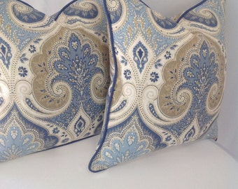 Set of 2: Kravet Latika in the color Delta Pillow Cover
