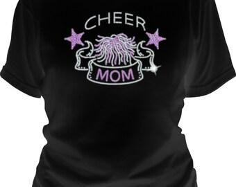 Cheer Mom Sequin T-Shirt