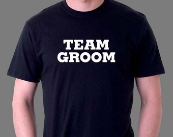 Team Groom Men's Shirt