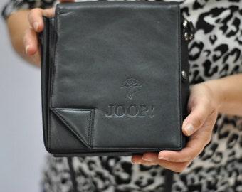 Vintage JOOP designer messenger leather bag ....(216)