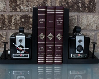 Kodak Kodak Brownie Hawkeye - Vintage Camera Bookends