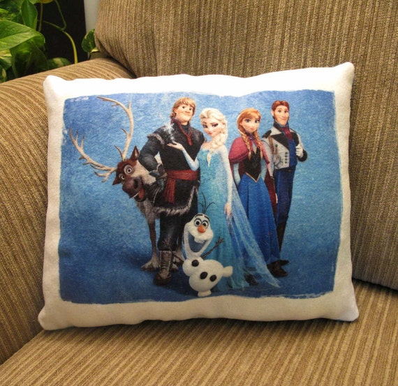 Beautiful pillow for kids Frozen Plush soft