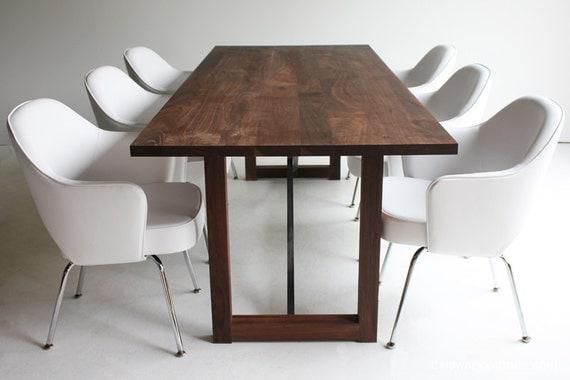 Table Wood Furniture Walnut Table Walnut Dining Table Walnut