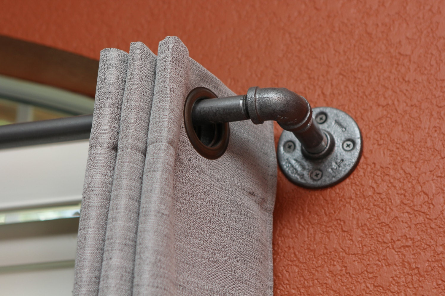 Length Of Shower Curtains Industrial Curtain Rod