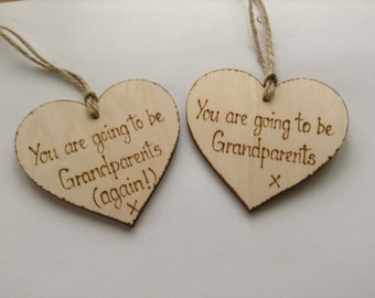 Baby Announcement -Pregnancy Announcement - You are going to be Grandparents