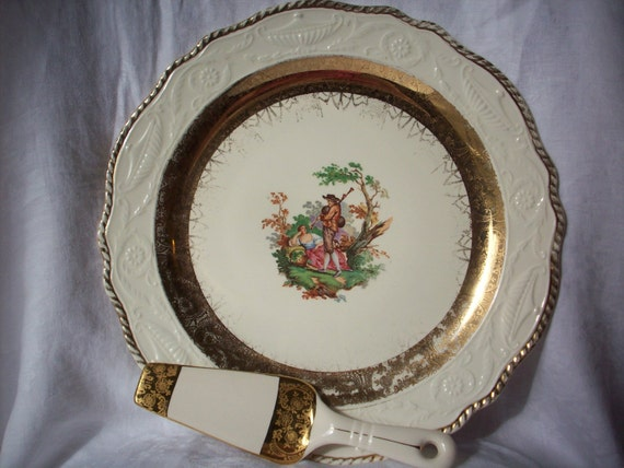 Adam Antique By Steubenville Beautiful Extra Large Vintage