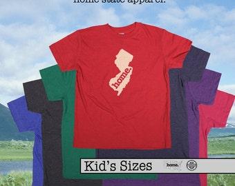 New Jersey home tshirt KIDS sizes The Original home tshirt