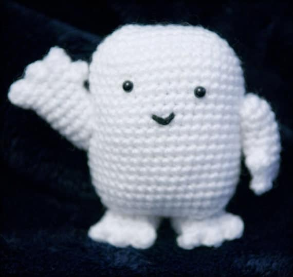 Free Knitting Patterns For Toys And Dolls : Adipose (Doctor Who) Amigurumi Crochet Pattern from Crochet4Days on Etsy Studio