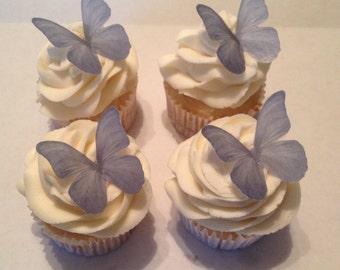 Lavender / Light Purple Edible Butterflies