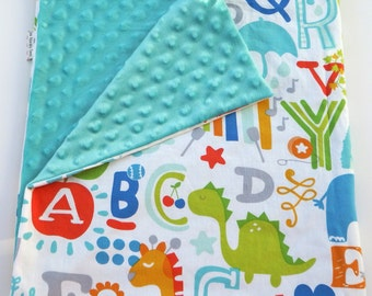 A is for Apple Baby Blanket