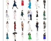 Kate Middleton, Duchess of Cambridge Fashion Poster I 18x24