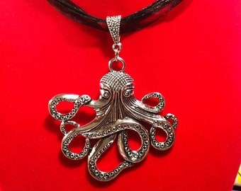 Large Octopus Necklace