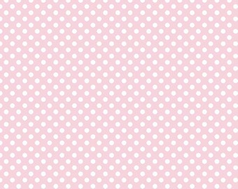 Baby Pink Small Dot by Riley Blake 1 Yard