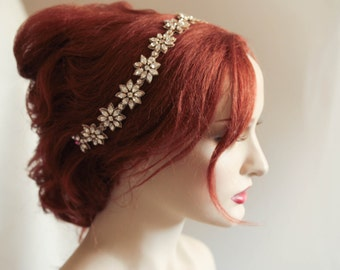 Bridal headpiece - Margherita (Made to order)