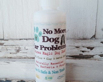 Earth's Answers All Natural No More Dog Ear Problems Grooming Healthy Ears!