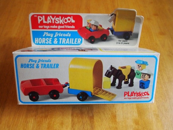 Year end clearance playskool play friends by hintzofvintage for Playskool kitchen set