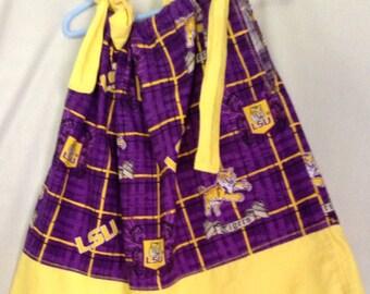 Sale LSU pillowcase dress size 2 free shipping