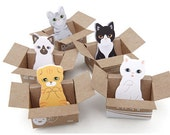 Kitty House It Set Sticky Note Adhesive Paper Post-it / Memopad