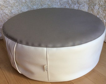 Little Rascals Two Toned Reversible Ottoman for Newborn Photography - Choose Size and Colors