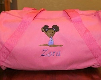 Embroidered Gymnastic Duffle Bag (Personalized Option)
