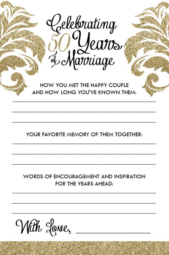 Printable Anniversary Party Sheets Damask 50th Anniversary