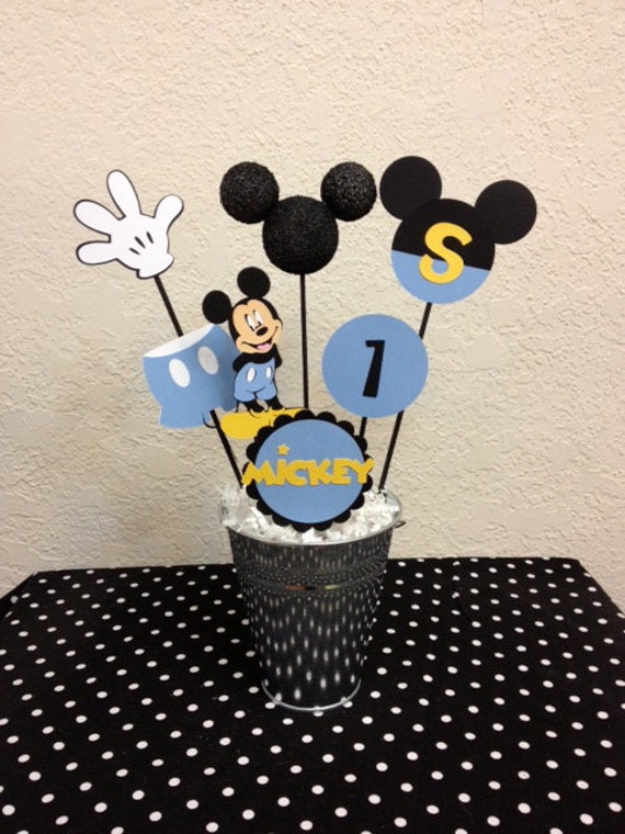 baby mickey mouse birthday centerpiece or baby shower