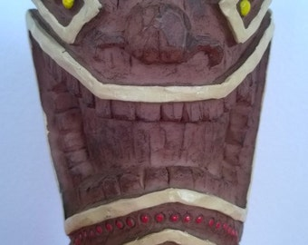Resin Tiki Statue 18.5cm