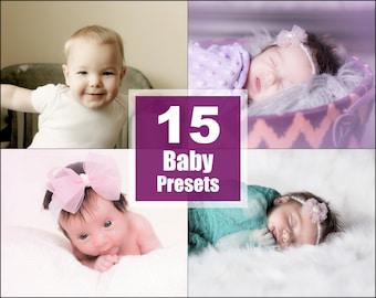 Baby Newborn Lightroom Presets