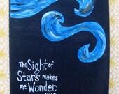 Custom Starry Night Journal