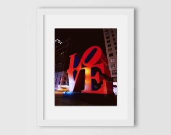 LOVE Sculpture | New York City Print | New York Photography | NYC Print