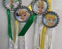 10 Tinkerbell Bubble Favors, Tinkerbell Birthday Party, Tinkerbell Party Favors, Tinkerbelle Decorations, Tinkerbelle Party, Fairy Favors