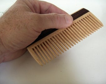 Wooden Comb, Handmade, Men Comb, Women Comb, Natural Hair Care, Convenient Size, Comfort Feel, Safe Natural Finish