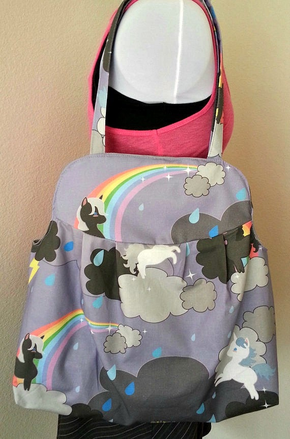 Large Unicorn Purse