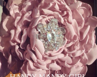 Gorgeous Fabric Dirty rose Glamelia Bouquet