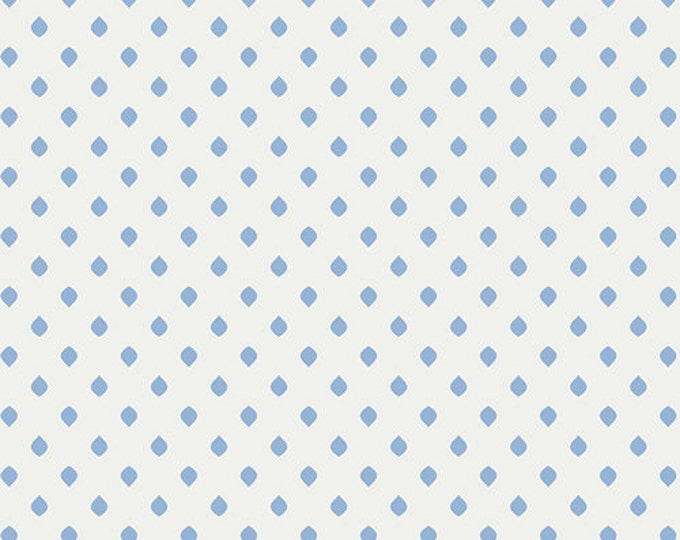One Yard Drift - Island Droplets in Sky Blue - Cotton Quilt Fabric - from Angela Walters for Art Gallery Fabrics (W1691)