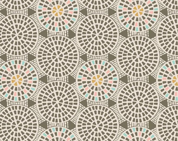 Half Yard Drift - Gemmed Pathways in Terra - Cotton Quilt Fabric - from Angela Walters for Art Gallery Fabrics (W1703)