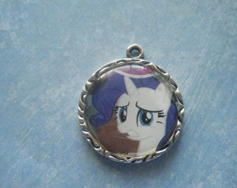 My Little Pony Rarity Pendant