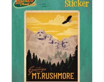 Mt Rushmore South Dakota Vinyl Sticker - #47949