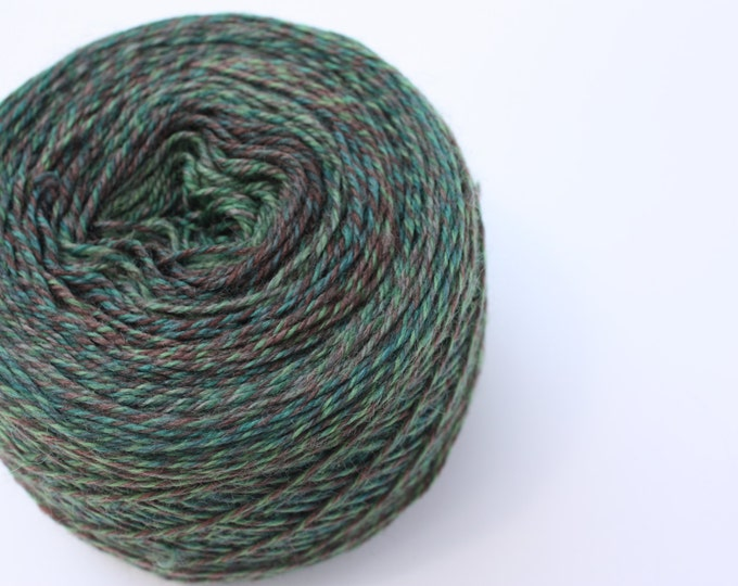 Elements Collection - Col 16 Daintree Green 4 ply supersoft 100% Merino