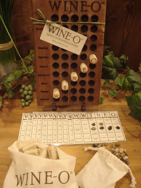 Wine O 174 Bingo For Wine Lovers 174 A Unique Wine Game And
