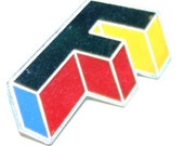 "Foreigner ""Agent Provocateur"" 1984 F Logo Tour Pin"