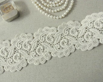 1Yard Vintage style Cotton Crochet Lace Trim #362