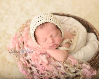 Simple Baby Bonnet | Baby Boy Hat | Infant Baby Girl Hat |