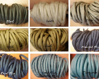 Available Paracord Colors *not for sale*