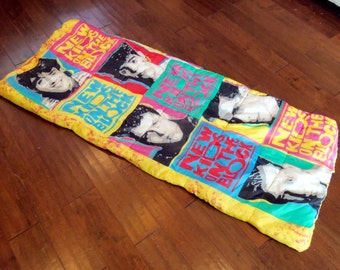 Vintage New Kids On The Block Sleeping Bag, 1990