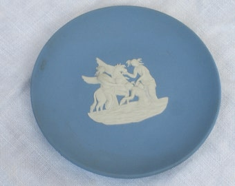 Wedgwood Blue Jasperware  - Pin Tray